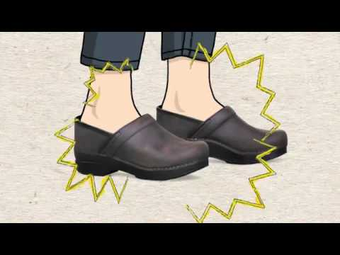 456efb1eb695 Fit Video for the Dansko Professional Clog - YouTube