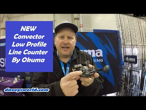 NEW Okuma Convector Low Profile Line Counter