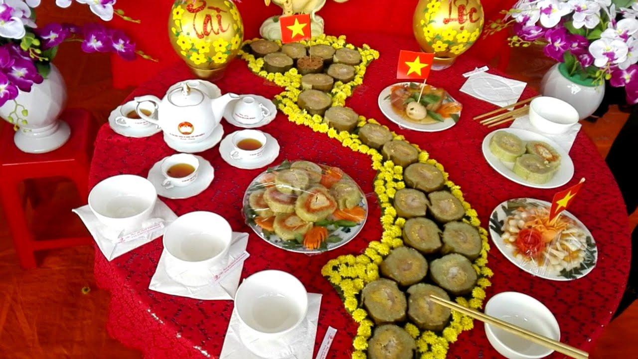 Hội thi gói bánh chưng tìm bán ngon dâng Vua Hùng /YTUP-TV886