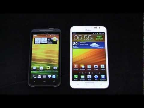 HTC EVO 4G LTE vs. Samsung Galaxy Note Dogfight Part 1