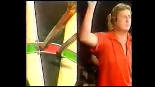 Eric Bristow Almost a 9 darter Dart from the 1985 BDO World Championship