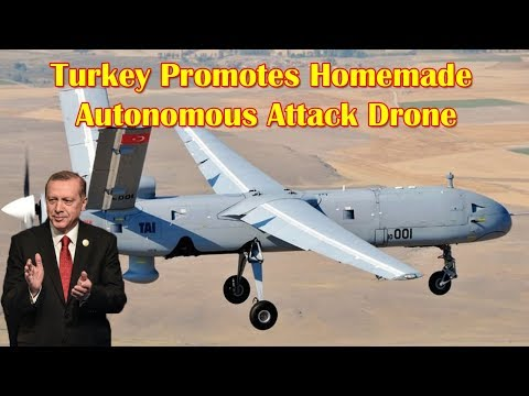 Turkey Promotes Homemade Autonomous Attack Drone 'Kamikaza' To Saudi Arabia At AFED Expo