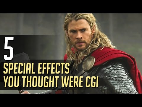 5 Special Effects You Thought Were CGI