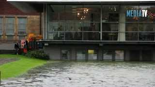 Wateroverlast treft museum Boijmans Van Beuningen