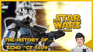 "Gambar cover Star Wars Lore - The History Of Echo ""CT 1409"" (Canon)"