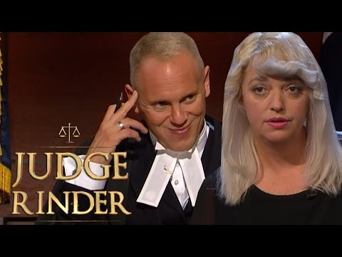 Judge Rinder Cannot Understand Northern Woman's Strong Accent!  Judge Rinder