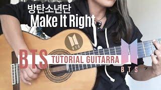 Download BTS - Make It Right (방탄소년단) - Tutorial Guitarra