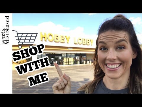 Hobby Lobby Shop with Me | Hobby Lobby Farmhouse Decor 2019