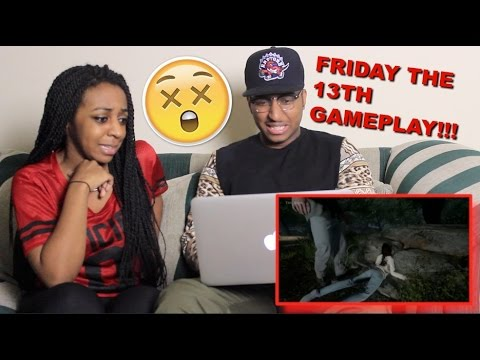 Couple Reacts : Friday The 13th Gameplay Reaction!!!!
