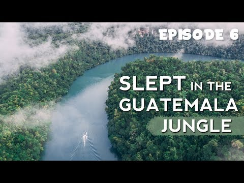 We Slept in the Jungle | Guatemala Travel Vlog | EP 6