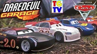 Disney Pixar Cars Daredevil Thomasville Racing Legends