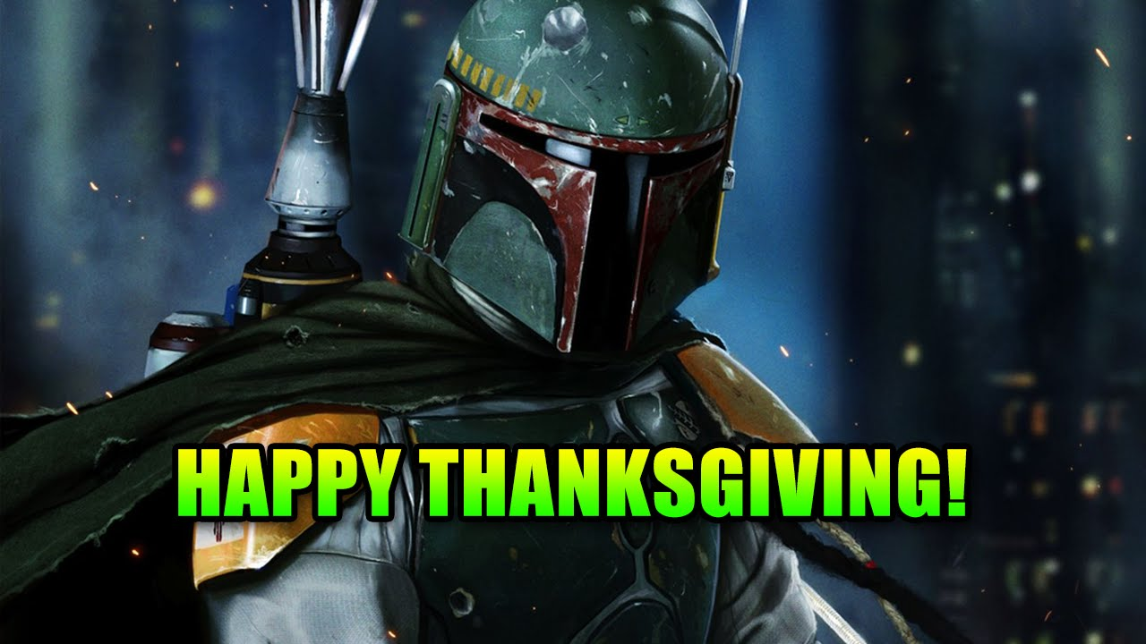 Happy Thanksgiving With Boba Fett Star Wars Battlefront Gameplay Youtube