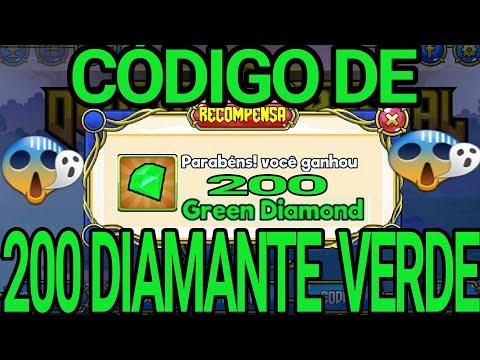 CÓDIGO DE 200 DIAMANTES VERDE 《 DRAGON CRYSTAL 》