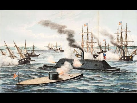 Battle Of The Hampton Roads - The Fury Of Iron And Steam