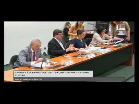 PEC 241/16 - NOVO REGIME FISCAL - Reunião Deliberativa - 11/10/2016 - 10:45
