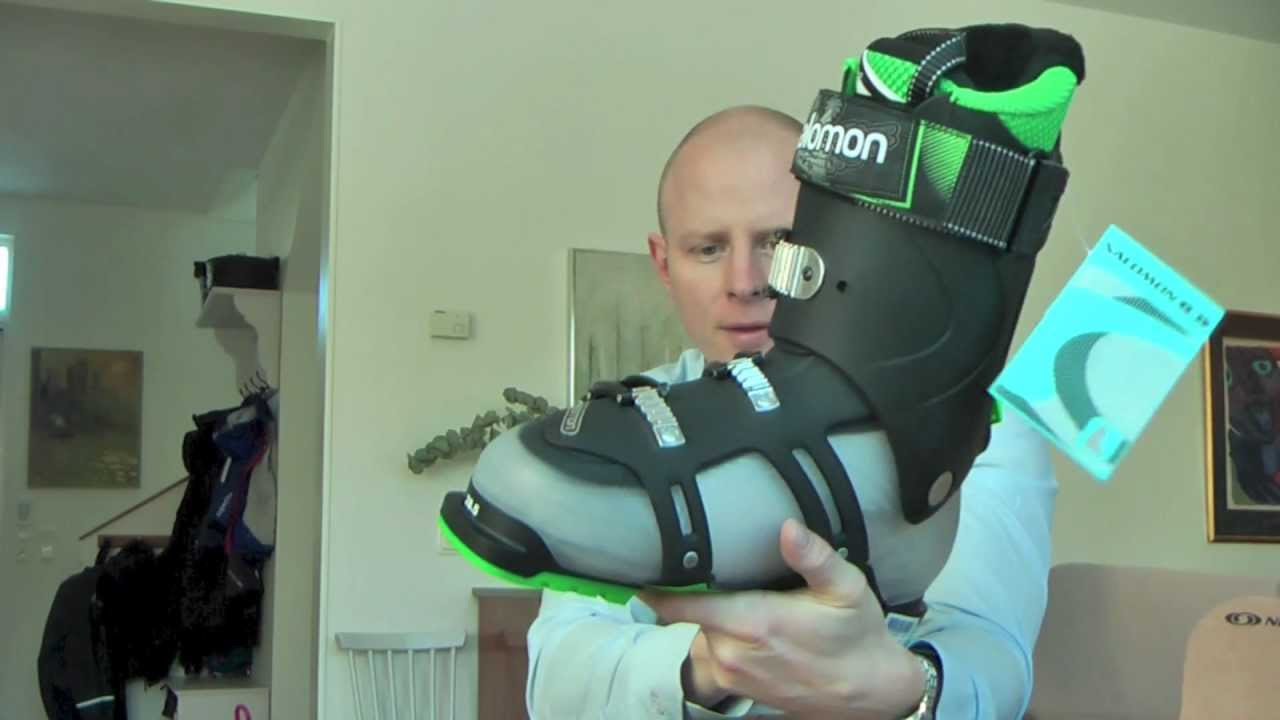 e2d9982d Salomon Quest 110 Ski Boot Unboxing 2013