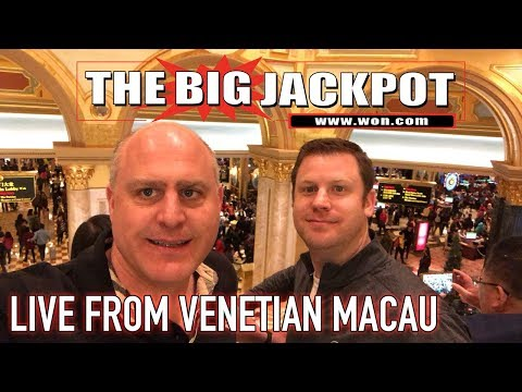 🔴 Live from Venetian Macau 💣 with the Raja 🎰