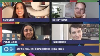 SDG Action News Global Goals Conference ft Daniel Howell