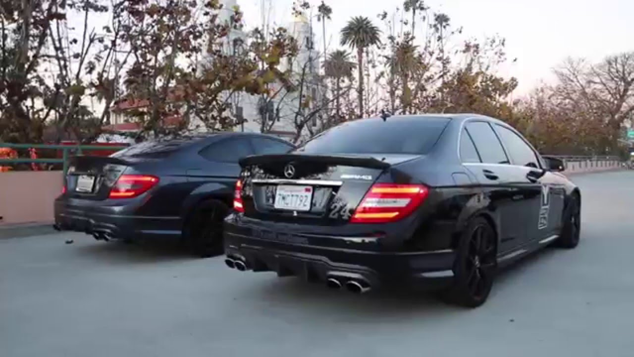 How To Terrorize Beverly Hills: Buy An AMG! Revs, Pulls, Exhaust Notes And  More!   YouTube