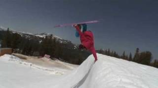 Freestyle skiing by Garrett Russell