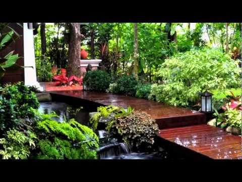 บ้านและสวน ผลงานออกแบบจัดสวน
