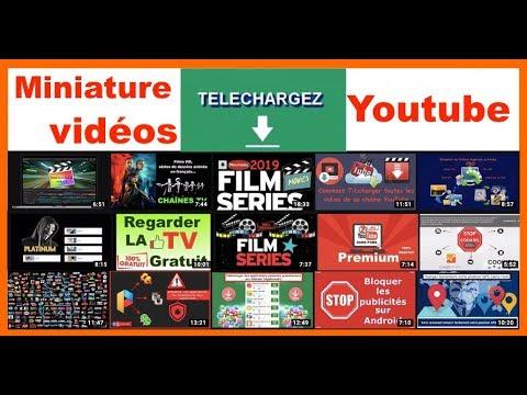 Comment récupérer la Miniature d'une vidéo Youtube