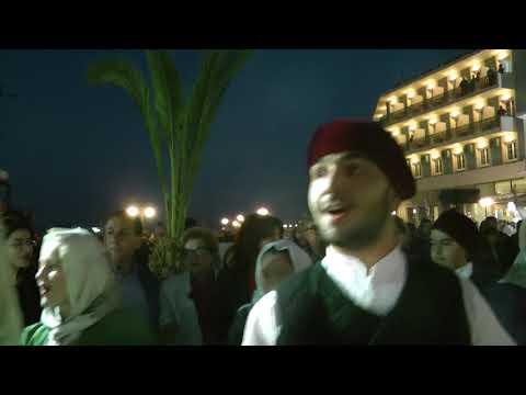 28-4-2019 Κυριακή του Πάσχα : Χοροί στην Κεντρική πλατεία Καλύμνου