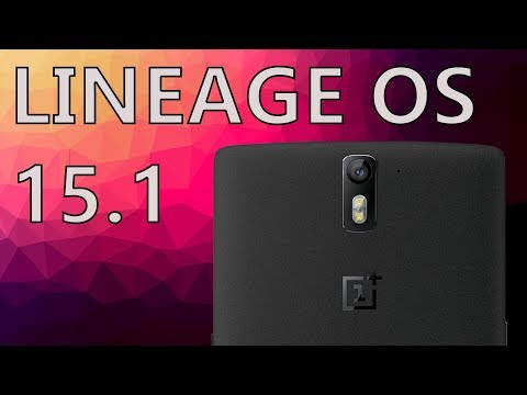 Oneplus One LineageOS 15.1 OFFICIAL