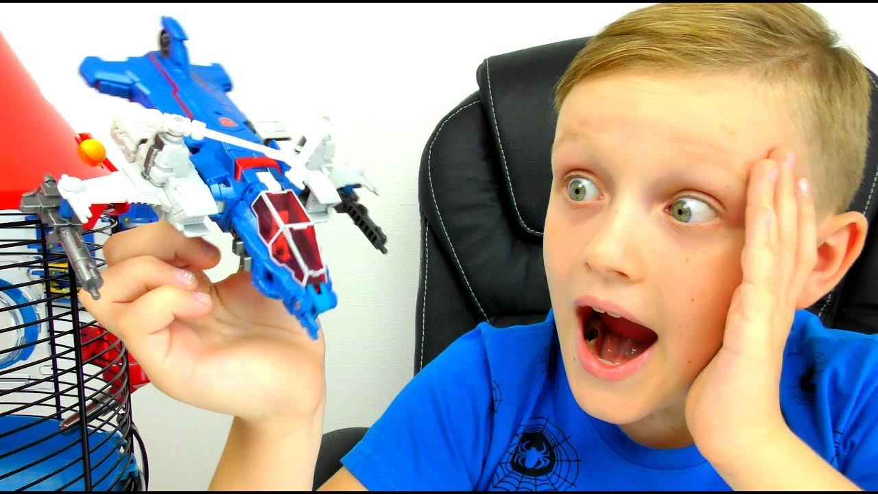 ТРАНСФОРМЕРЫ Автоботы Игрушки из Мультика Машинки и Самолеты Transformers for kids
