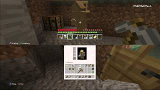 Minecraft: PS3 Edition Split Screen - Episode 1