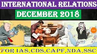 International Relations Current Affairs for Civil Services,CDS,NDA,SSB