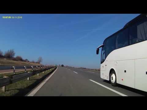 Timelapse travel from Nis (Serbia) to Krusevac (Serbia)