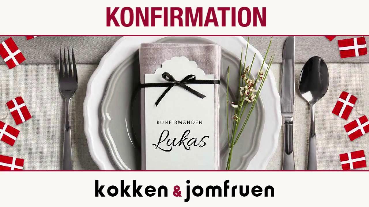 Super Kokken og Jomfruen Konfirmation 2018 - YouTube VP06