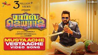 Mustaache Vestaache Video Song | Parris Jeyaraj | Santhanam | Santhosh Narayanan | Johnson K