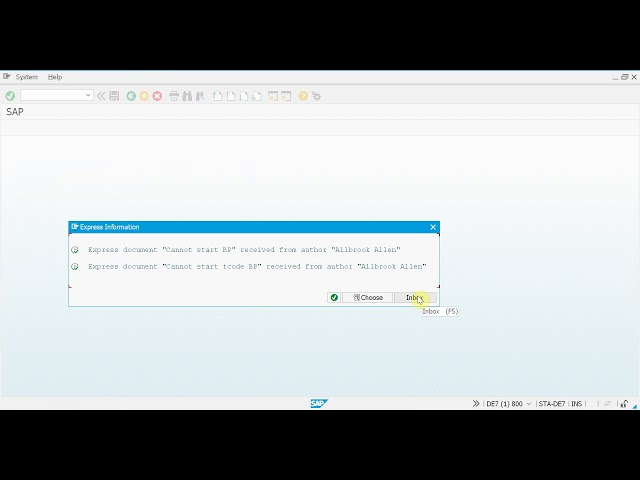 SAP + Micro Focus (formerly HP) Service Manager integration - Key user concept