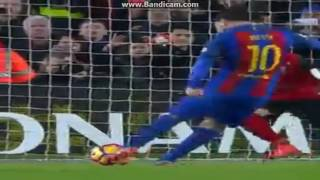 Lionel messi penalty goal barcelona vs ...