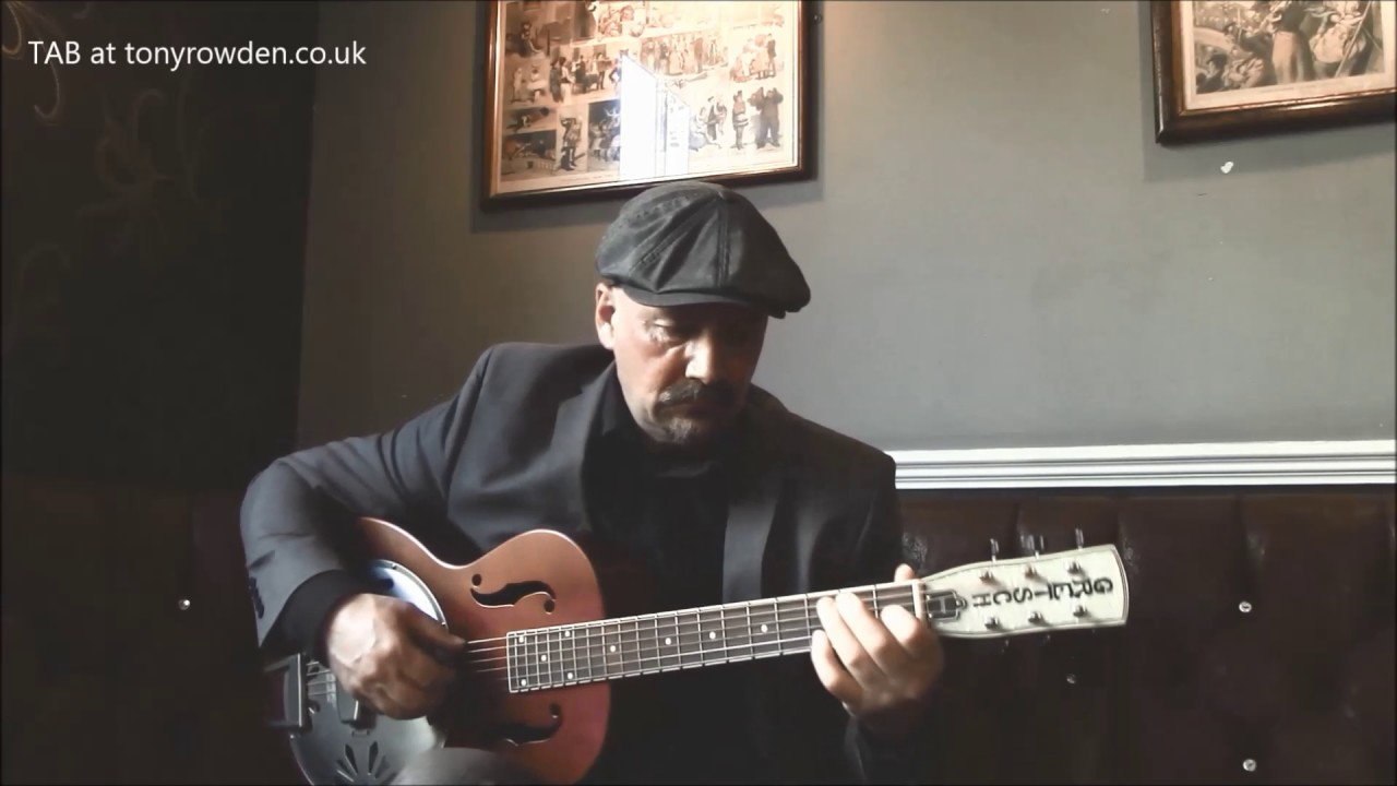 Ragtime Guitar - 'A Bag of Rags' - FREE TAB www tonyrowden co uk