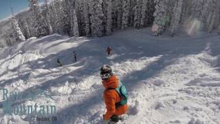 Raw Mountain, Skiing at Mary Jane!