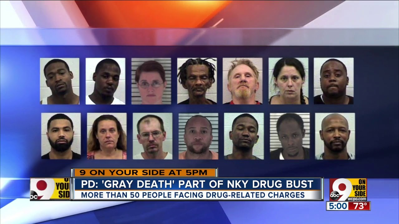 PD: Heroin-laced drug, Gray Death, part of NKY drug bust