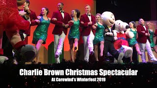Charlie Brown's Christmas Spectacular at Carowind's Winterfest 2019