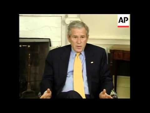 Bush comments on decision to send more troops to Iraq and Iranian infuence in Iraq