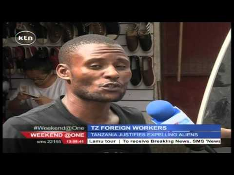 Tanzania government justifies the expulsion of foreigners
