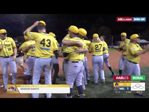 HIGHLIGHT: Bandits win back-to-back titles, 2017 ABLCS presented by BORAL®, Game Two