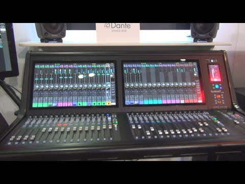 Solid State Logic System T - S300 Network Native Compact Broadcast Console Review