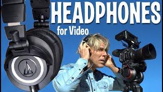 Best HEADPHONES for Video monitoring