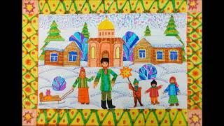 конкурс рисунка и ДПИ  Рождество 2018