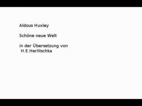 Schöne neue Welt YouTube Hörbuch Trailer auf Deutsch