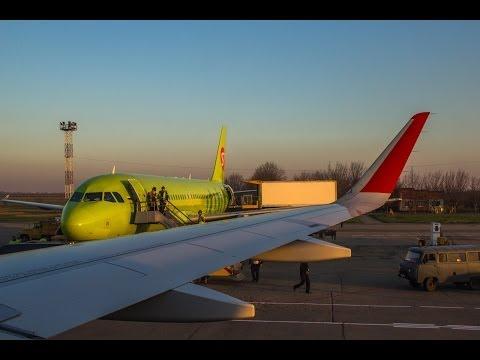 Взлет из Краснодара (Пашковский) 23.03.2014 Aeroflot A320-214  VQ-BSG
