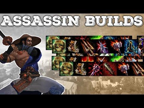 SMITE Jungle Builds for ALL Assassins | Basic Guide (v2)