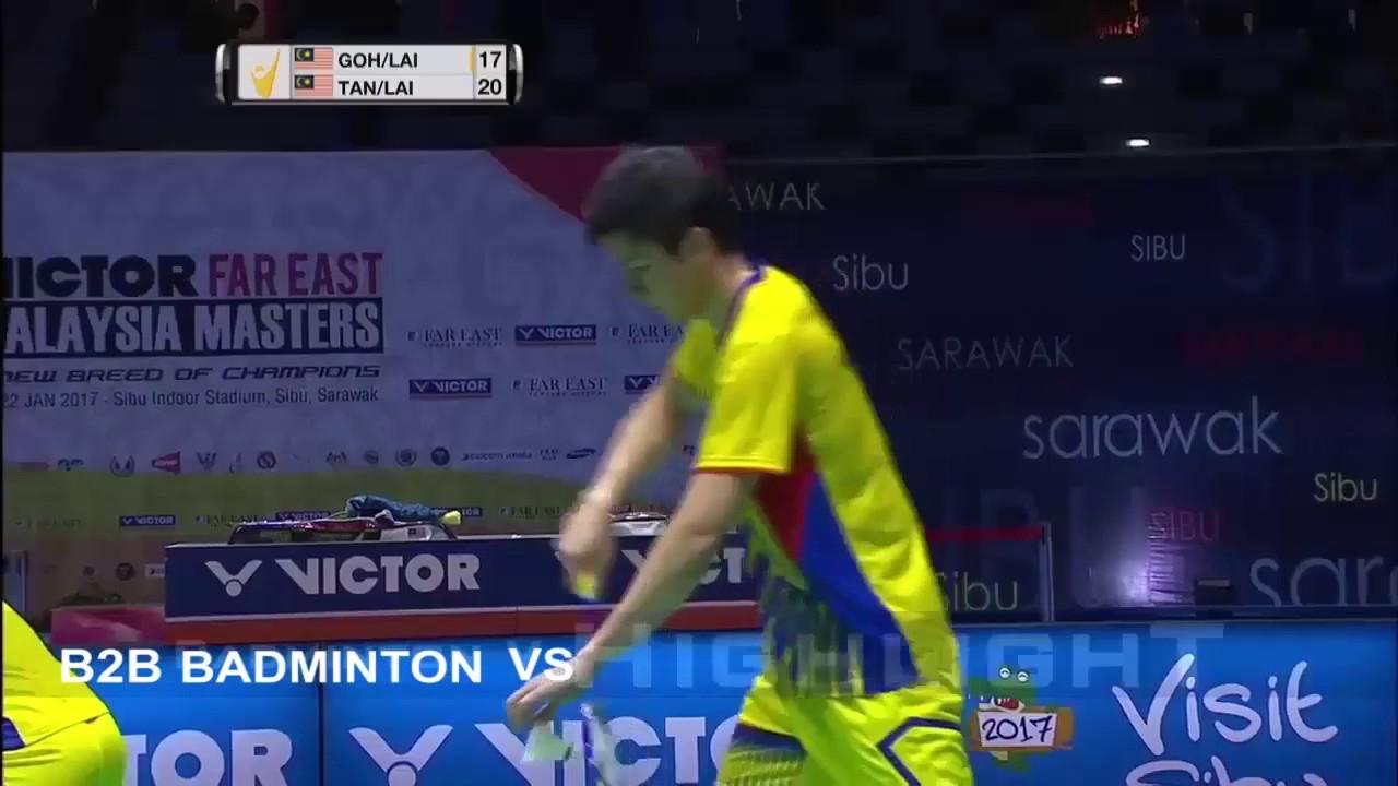 Badminton 2017 MalaysiaMaster Final Tan Kian Meng Lai Pei Jing vs